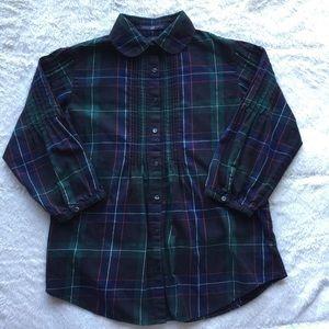 Women's GAP Plaid Flannel
